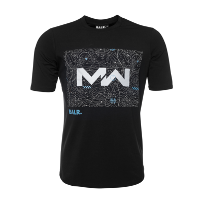 BALR. x Call of Duty: Modern Warfare T-Shirt Zwart