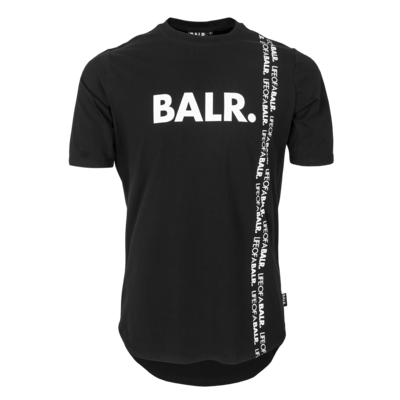 BALR. vertical LOAB athletic t-shirt Black