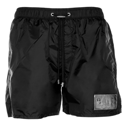 Silver Club Swim Shorts Schwarz