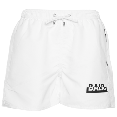 Brand Club Swim Shorts Weiß