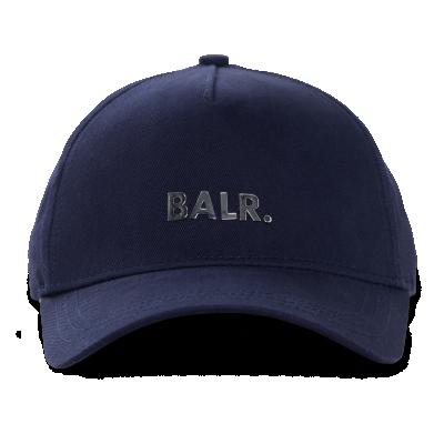 Classic Metal Logo Cap Marineblauw