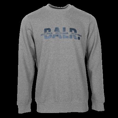 BALR. Crossed LOAB Straight Crew neck Grey