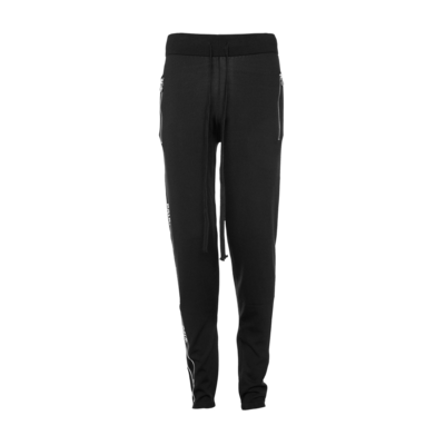 Brand Tape Sweatpants Zwart