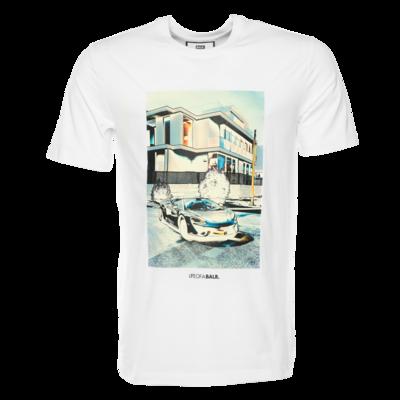BALR. lifestyle straight t-shirt Wit