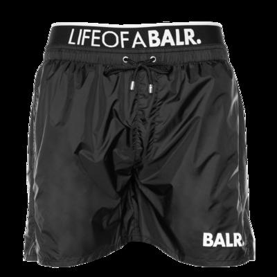 BALR. Lounge Badeshorts Schwarz