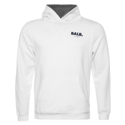 Embroidered LOAB Hoodie Wit