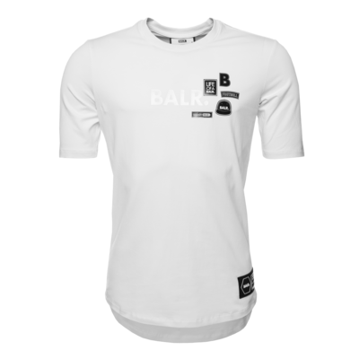 Brand Badges T-Shirt Wit