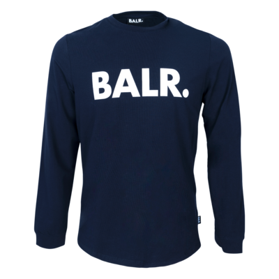 BALR. Brand Athletic long sleeve T-Shirt Navy