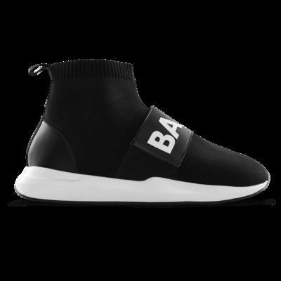 EE Premium Strap Sock Sneaker Zwart