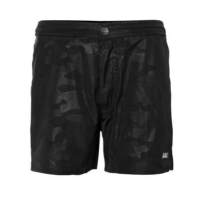 Dark Camo Swim Shorts Black