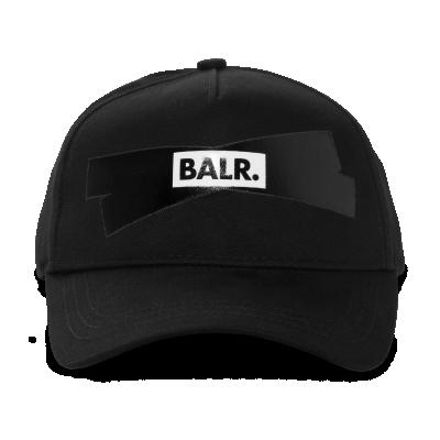 Tape Logo Cap Zwart