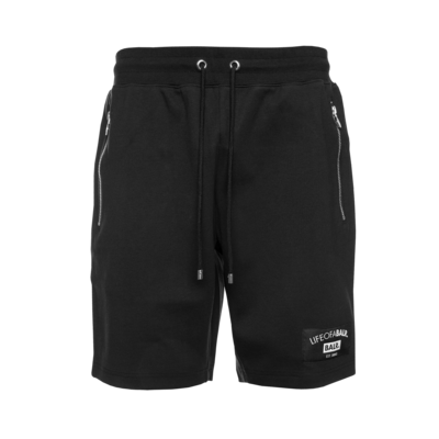 LIFEOFABALR. Club Sweat Shorts Zwart