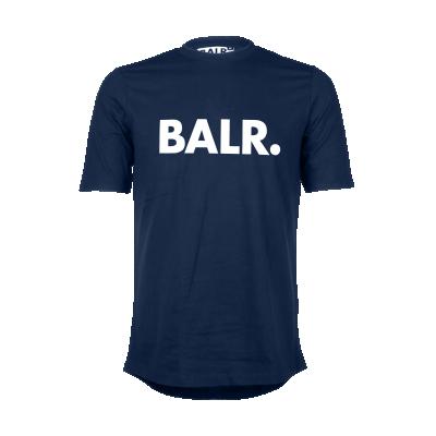Brand T-Shirt Marineblauw