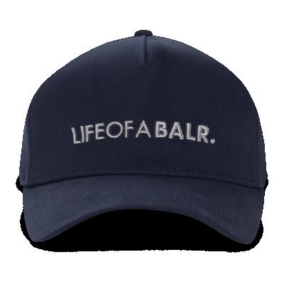 LIFEOFABALR. Cap Marineblauw