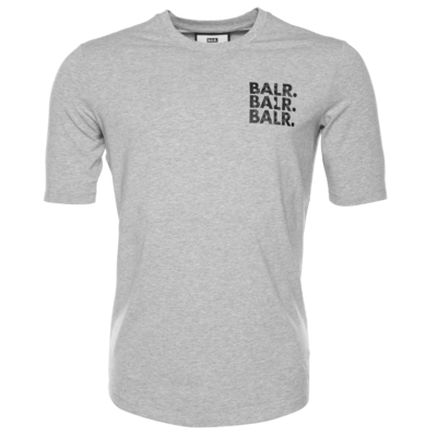 BALR. Triple Athletic T-Shirt Grey