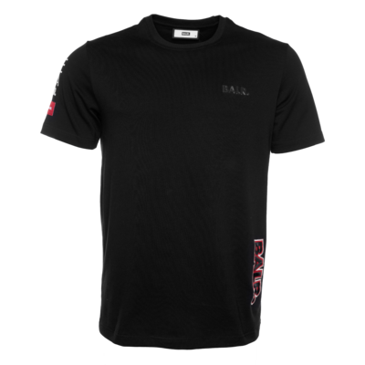 BALR. embroidered straight t-shirt Black