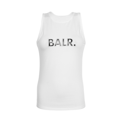 BALR. original race top s/less wmn White