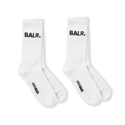 2-Pack BALR. Socks White