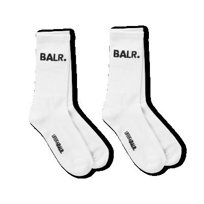 Zweierpack BALR. Weiße Socken