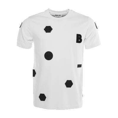 Black Label - Badge T-Shirt White