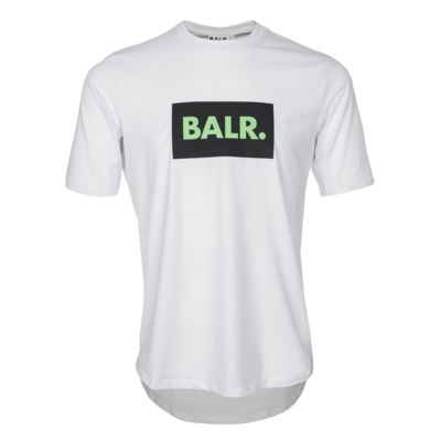 BALR. no logo athletic t-shirt White