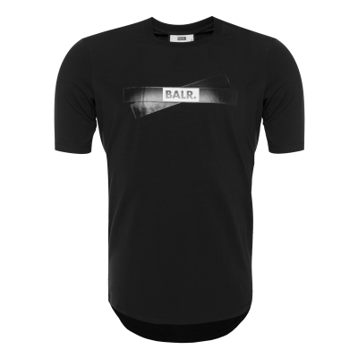 Tape Logo T-Shirt Black
