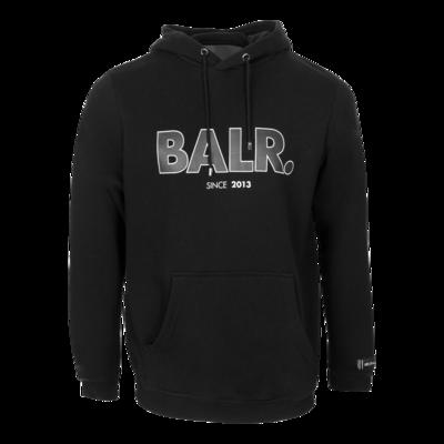 BALR. since straight hoodie Black