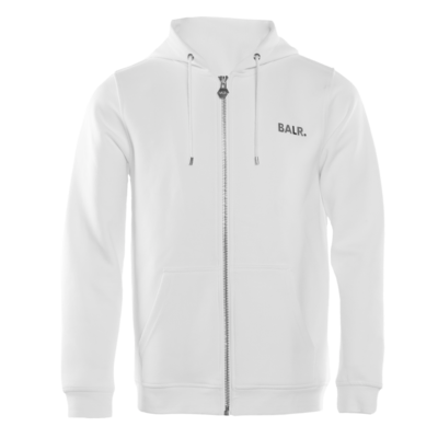 Q-Series Zipped Hoodie White