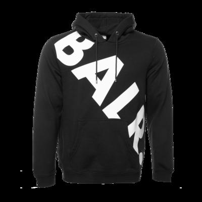 Tilted Logo Hoodie Zwart