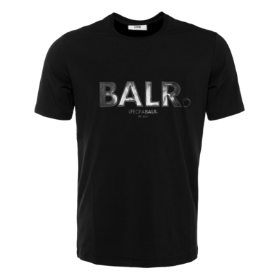 Black Label - Outlined Logo T-Shirt Black