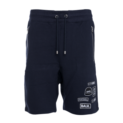 BALR. Badge Shorts Marineblauw