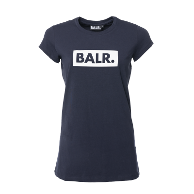 Women Club T-Shirt Marineblauw