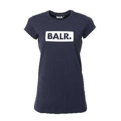 Women Club T-Shirt Marineblauw