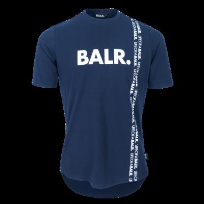 BALR. vertical LOAB athletic t-shirt  Navy