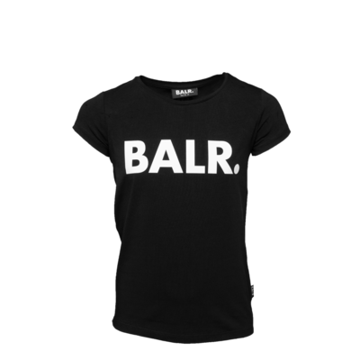 Brand Logo T-Shirt Girls Black