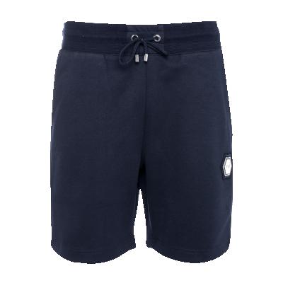 Q-Series Metal Hexagon Badge Shorts Marineblauw