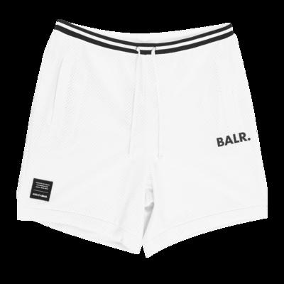 BALR. Mesh Shorts White