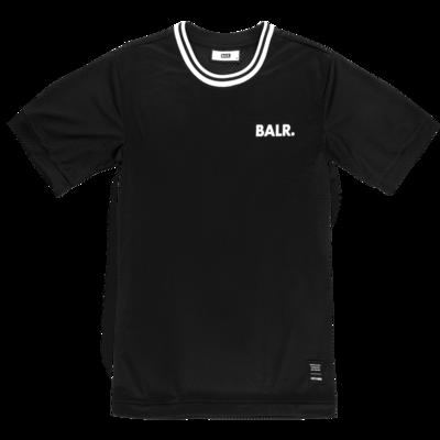 BALR. Mesh Loose T-shirt zwart