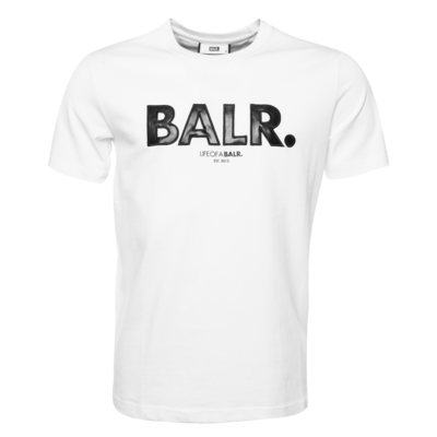 Black Label - Outlined Logo T-Shirt White