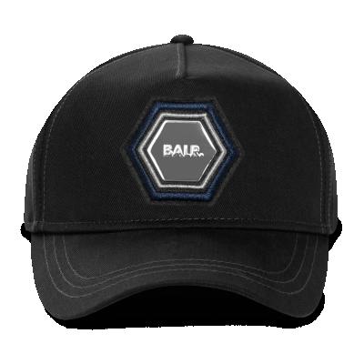 Q-Series Metal Hexagon Badge Cap Zwart