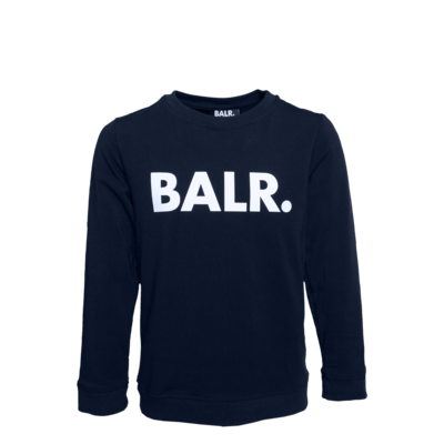Brand T-Shirt Long Sleeve Kids Marineblau
