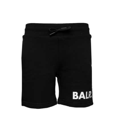 Brand Sweat Shorts Kids Zwart