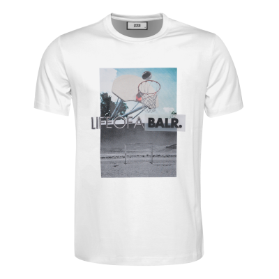 Black Label - Goal T-Shirt Wit