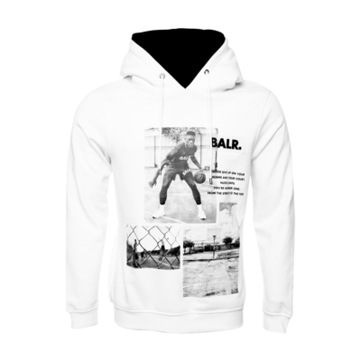 Court Dreams Hoodie White
