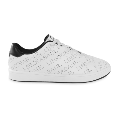 LOAB Perforated Leather Sneakers Wit