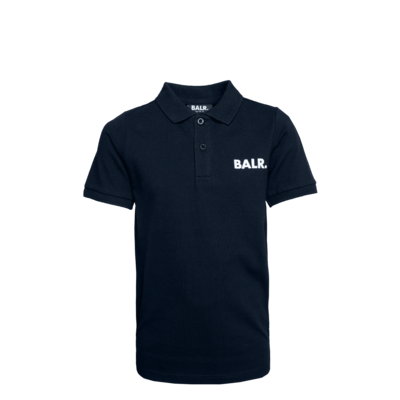 Brand Polo Shirt Kids Navy Blue