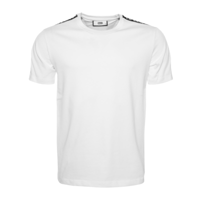 Black Label - LIFEOFABALR. Tape T-Shirt White