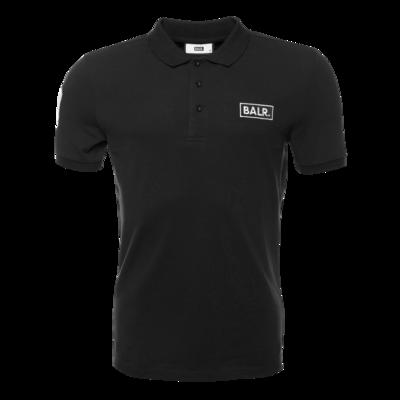 BALR. Club 10 Polo Shirt Black
