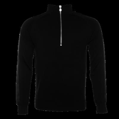 BALR. Tape Straight Half-Zip Pullover Zwart