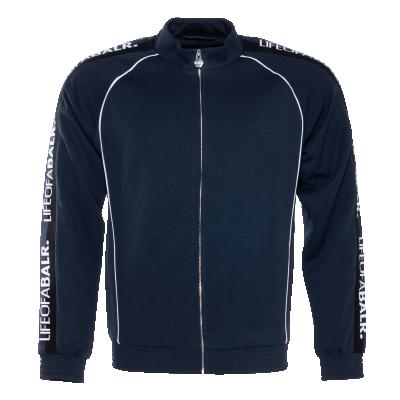 LOAB Webbing-Trimmed Jacket Marineblauw